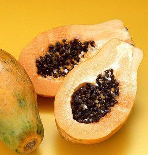 海南木瓜5-6个/箱(约4.5-5kg)